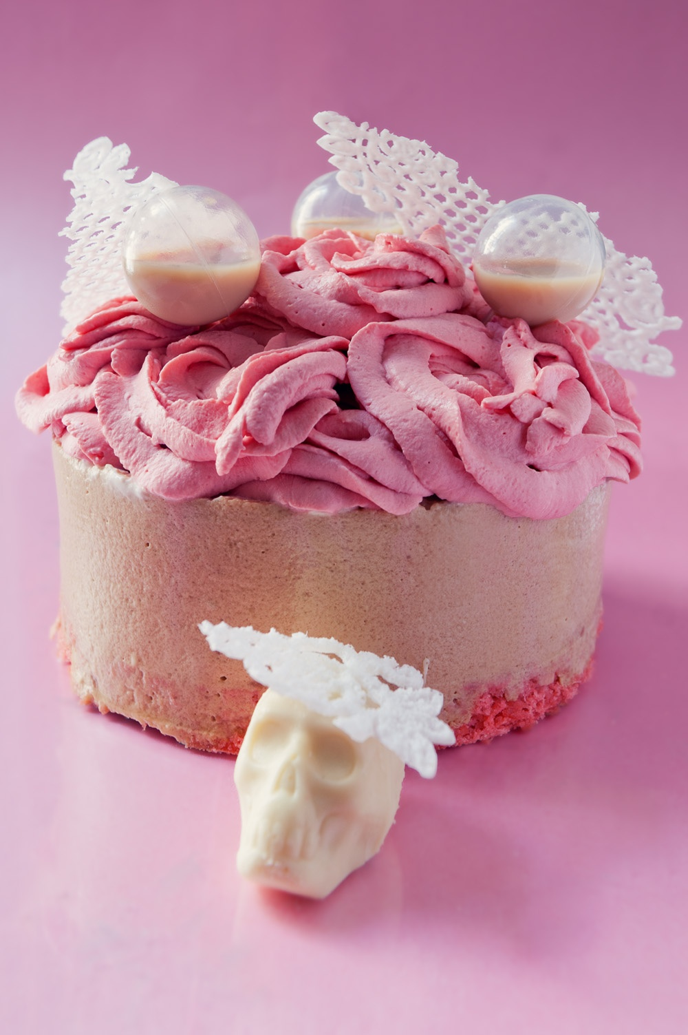 Arsenic & vieilles dentelles - Royal chocolat/baileys/framboise - Qui a vole les tartes ?