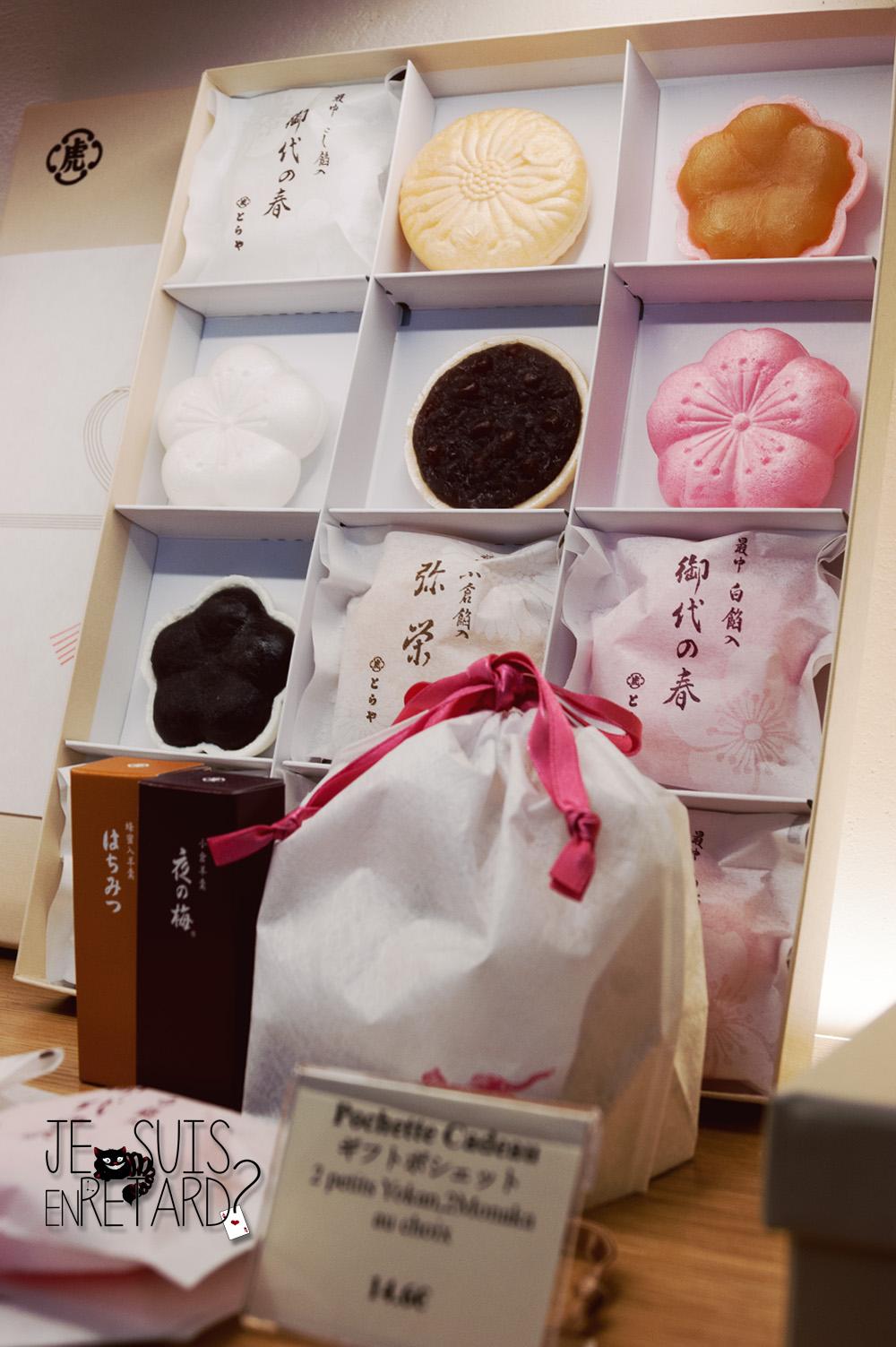 Toraya - Pâtisserie japonaise - pintrerest