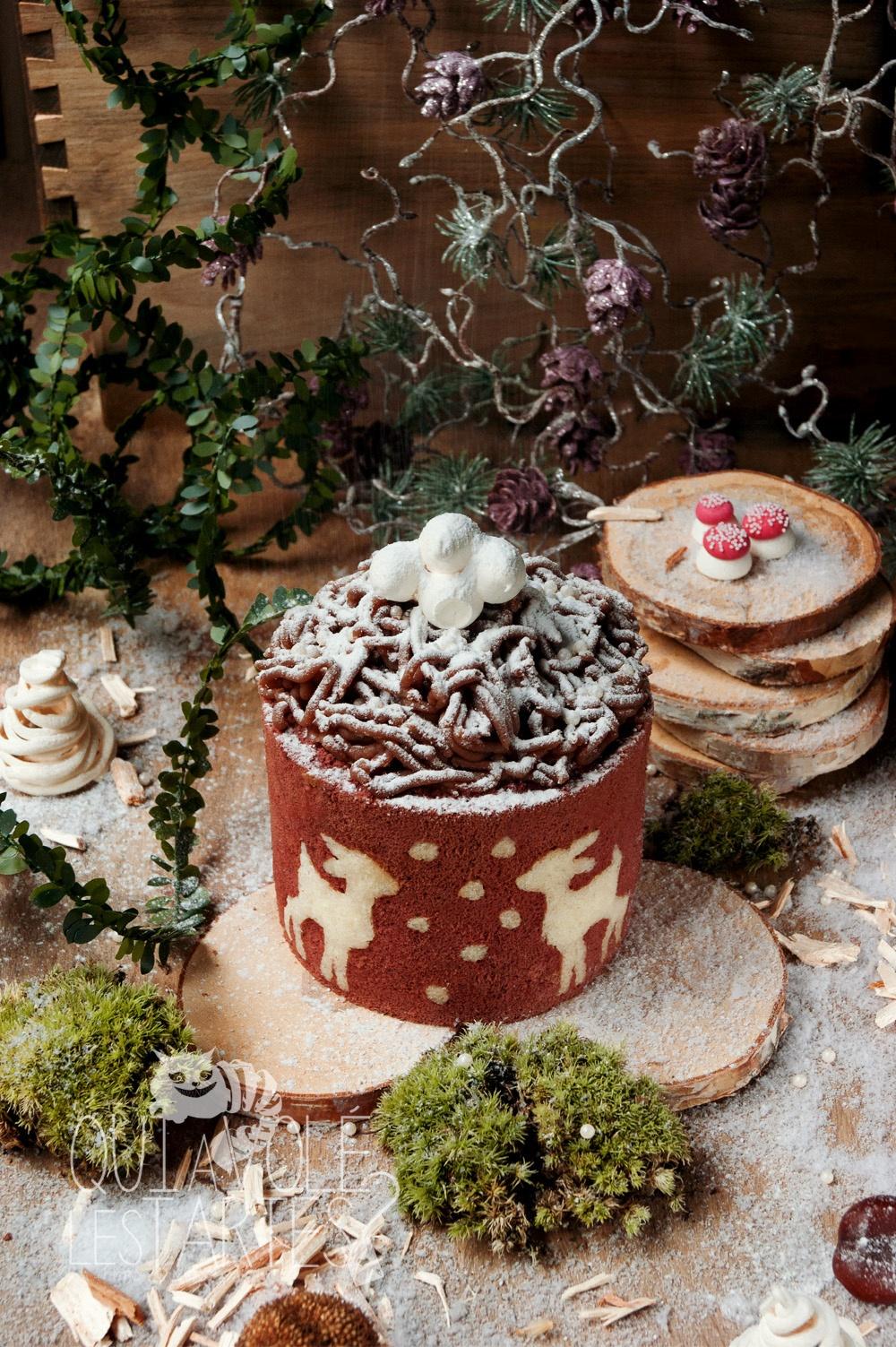 Mont-Blanc Noël sans gluten 2 - Studio 2 création - Qui a volé les tartes