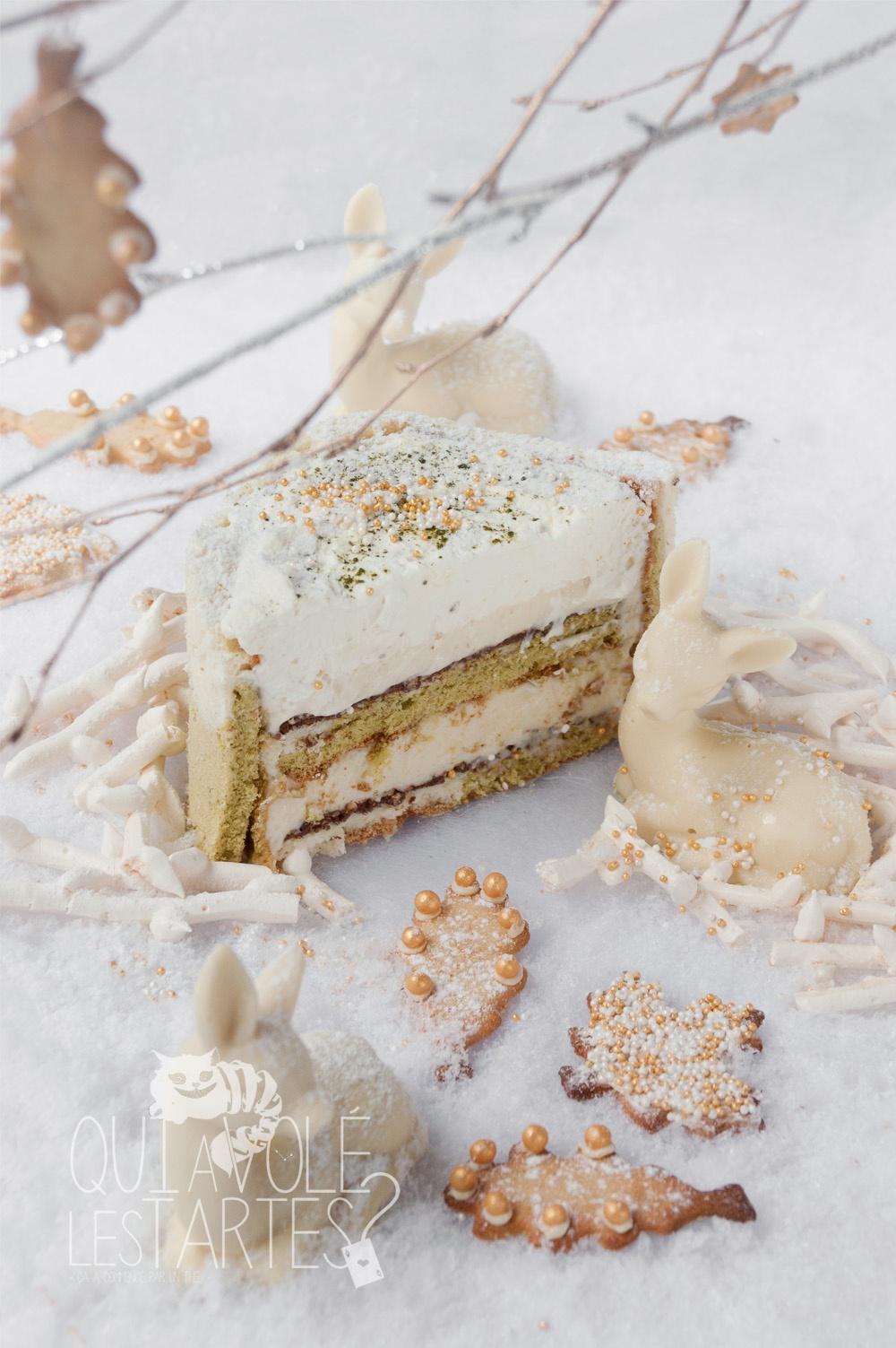 Nara 3 - charlotte sans gluten MatchaYuzu - Studio 2 créaion - Qui a volé les tartes