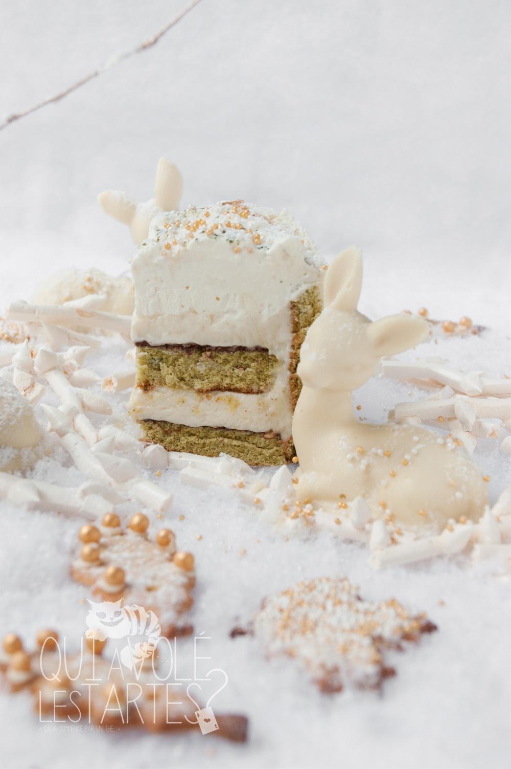Nara 4 - charlotte sans gluten MatchaYuzu - Studio 2 créaion - Qui a volé les tartes