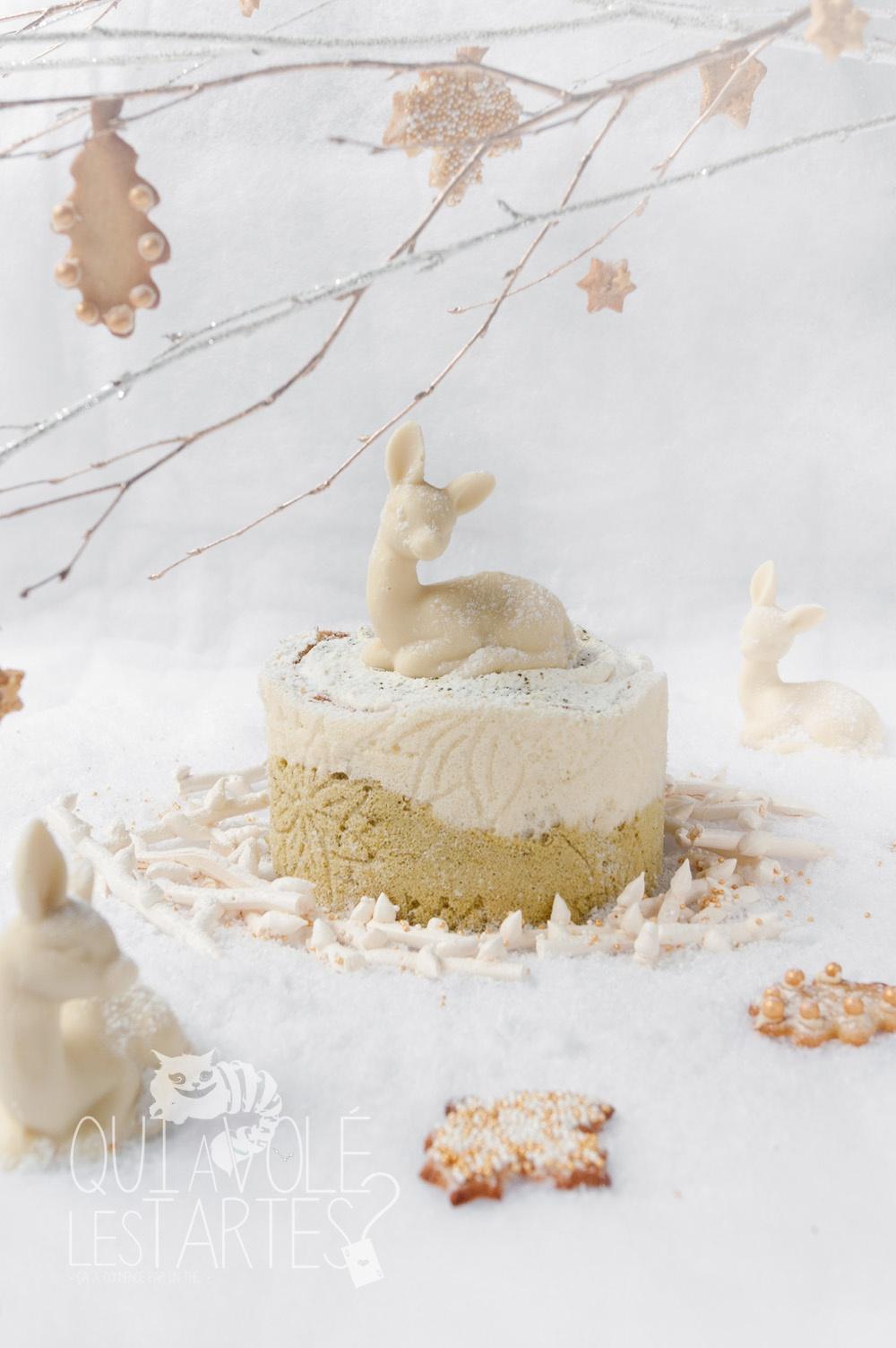 Nara - charlotte sans gluten MatchaYuzu - Studio 2 créaion - Qui a volé les tartes