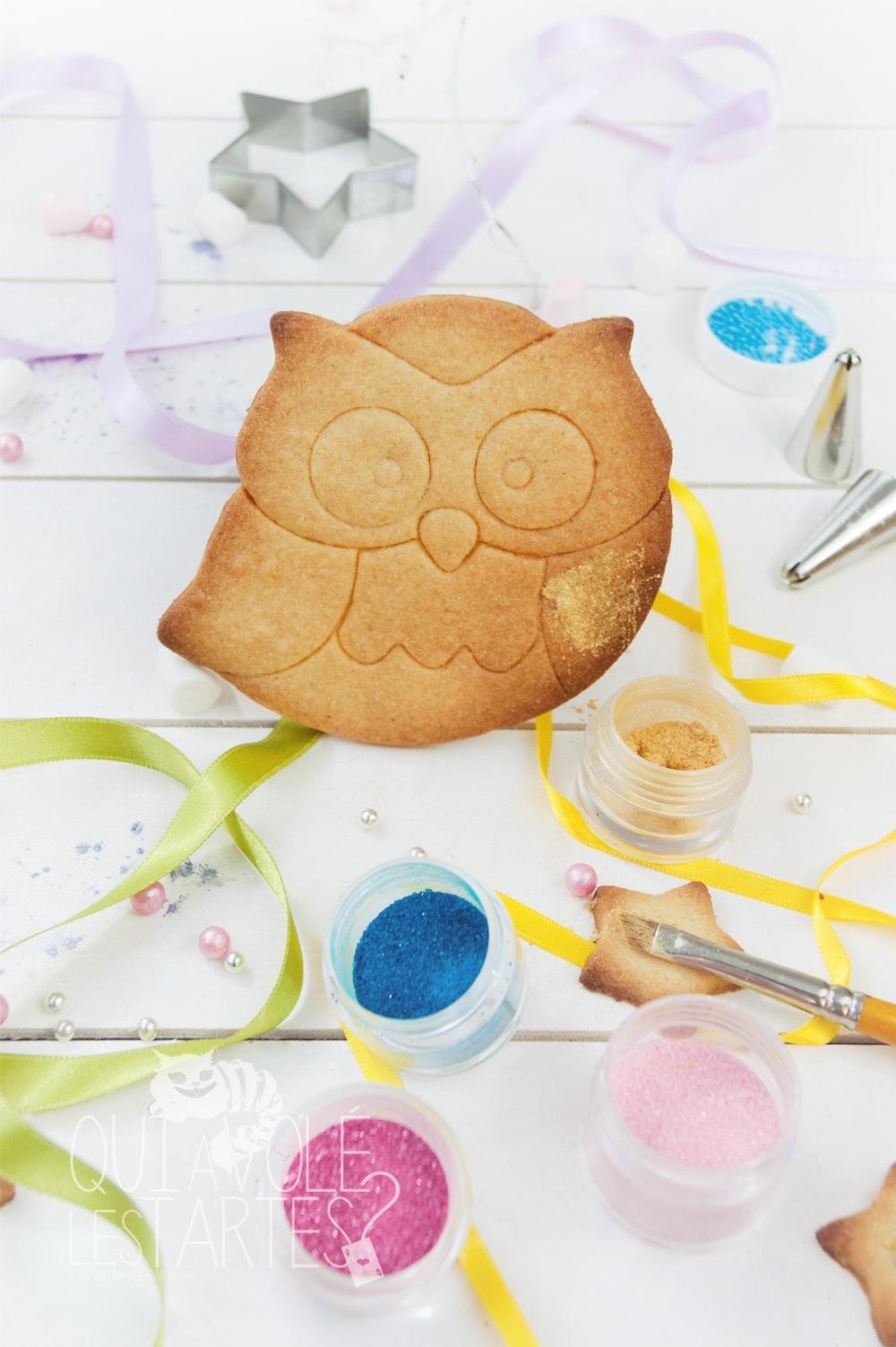 Gâteaux sucettes - Sablé à colorier 1 - Studio de création - Qui a volé les tartes