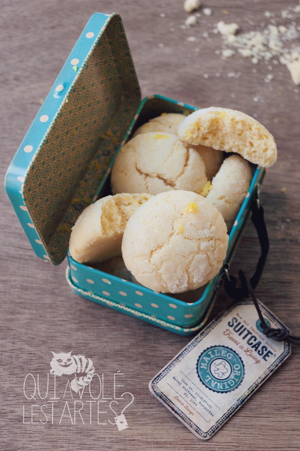 Crinkles sans gluten chocolat & amandes 3 - Studio de création - Qui a volé les tartes