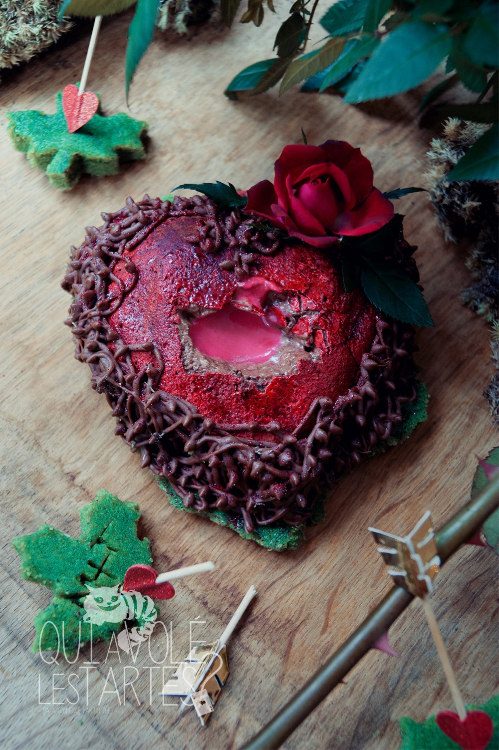 L'arrache coeur 2 - Marquise au chocolat - Studio de création - Qui a volé les tartes