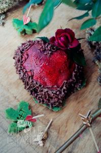 L'arrache coeur - Marquise au chocolat ©Photographie et stylisme culinaire Qui a volé les tartes ?
