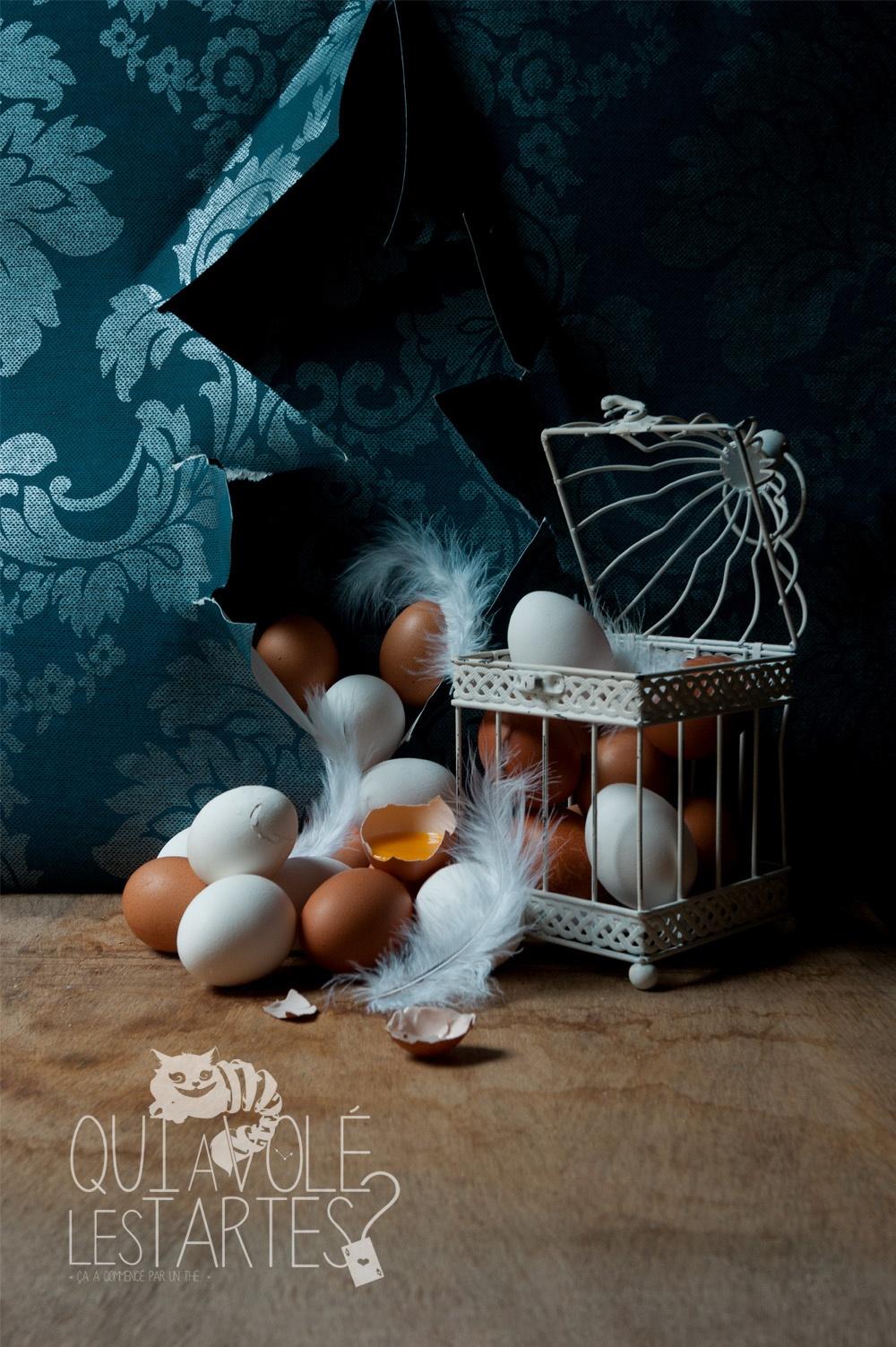Oeufs cachés 1 - Studio de création - Qui a volé les tartes