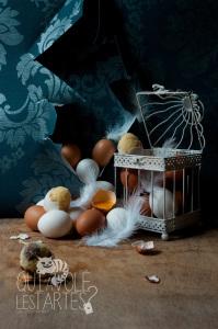 Recette trompe-l'oeil oeufs cachés sans gluten ©Photographie et stylisme culinaire Qui a volé les tartes ?