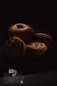 Tourtes à l'ancienne sans gluten aux pommes & aux fruits-rouges  ©Photographie et stylisme culinaire Qui a volé les tartes ?