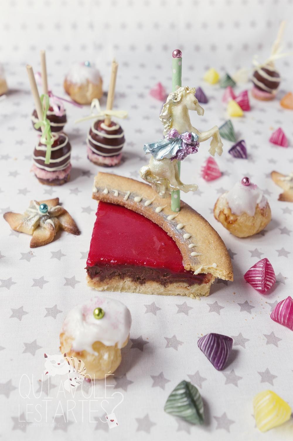 Tarte Carrousel & Fête foraine 6 - Studio de création - Qui a volé les tartes
