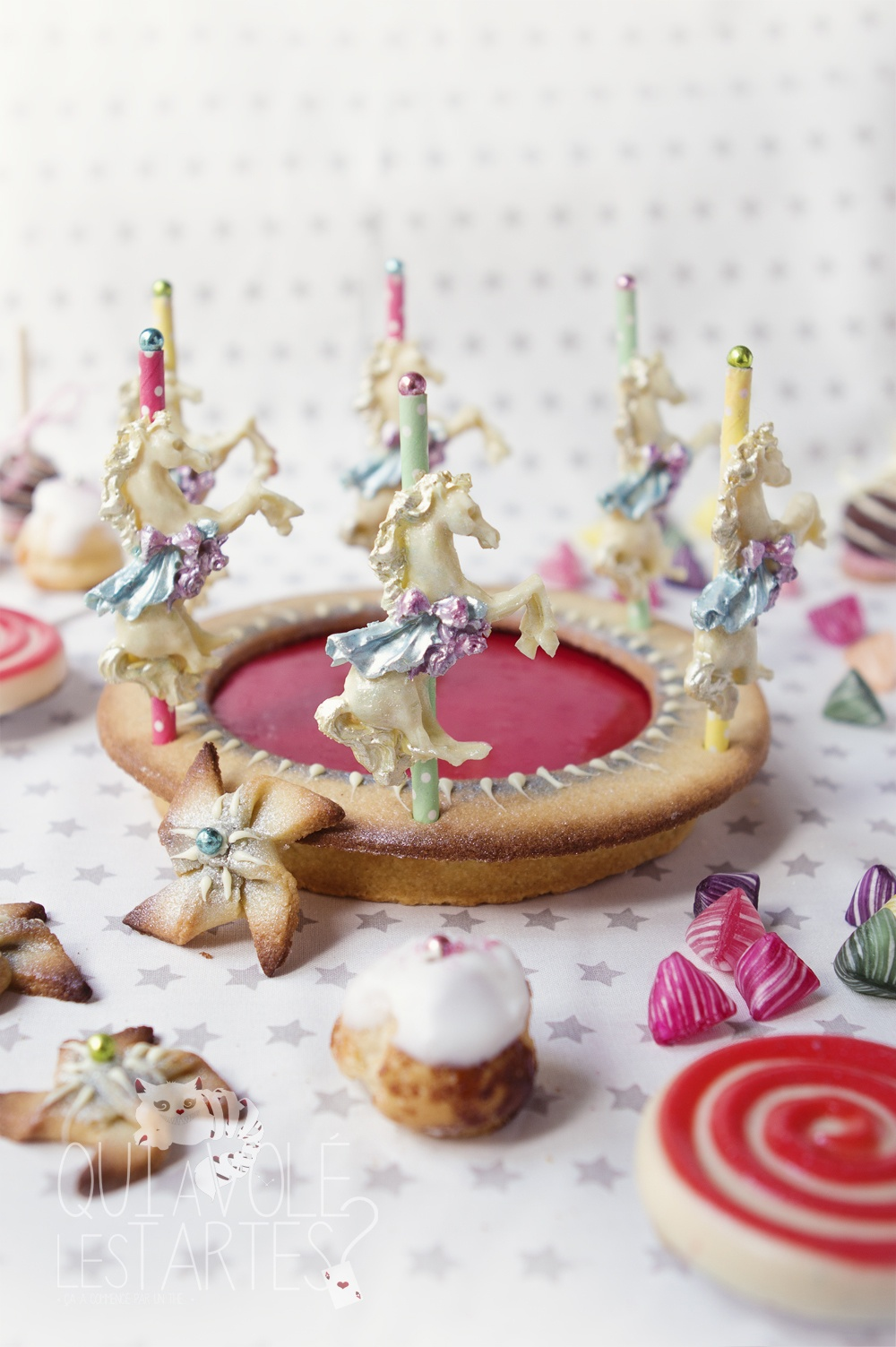 Tarte Carrousel & Fête foraine - Studio de création - Qui a volé les tartes