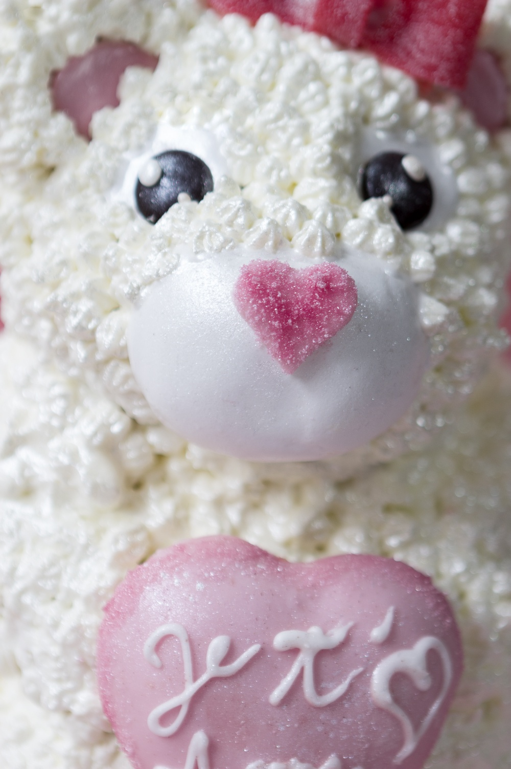 Cake petit ourson je t'aime maman - studio de création - Qui a volé les tartes (3)