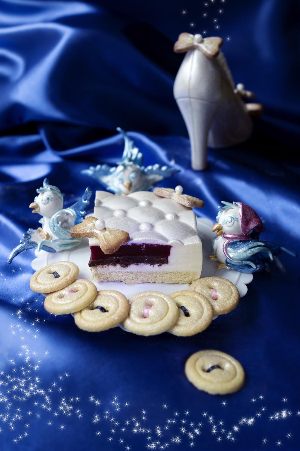 Gâteau Cendrillon - Cinderella cake 1 - studio de création - Qui a volé les tartes