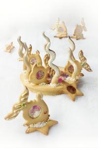 Sous l'océan, tarte exotique à la vanille sans gluten ©Photographie et stylisme culinaire Qui a volé les tartes ?