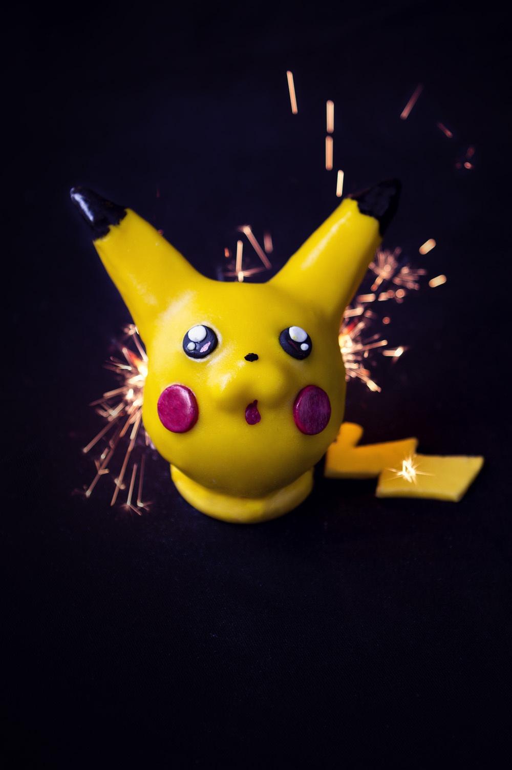 Pikachu - Pokemon Cake - Studio de création - Qui a vole les tartes