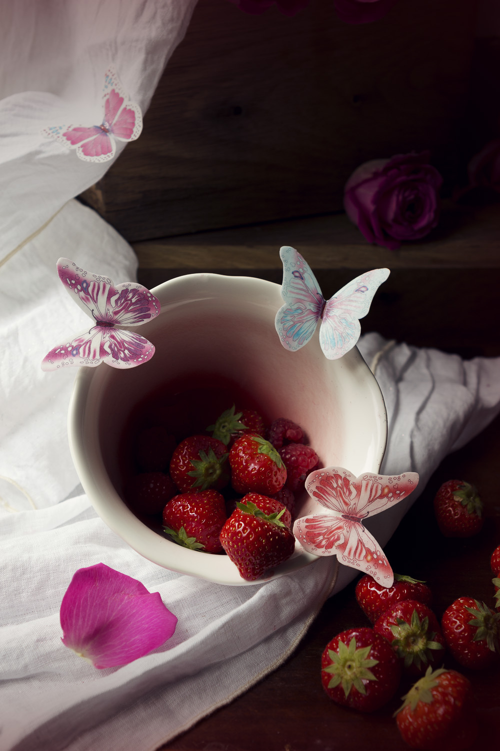 Zebra cheesecake fraise - Studio de création - Qui a vole les tartes (4)