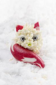 Cake pops renards des neiges ©Photographie et stylisme culinaire Qui a volé les tartes ?