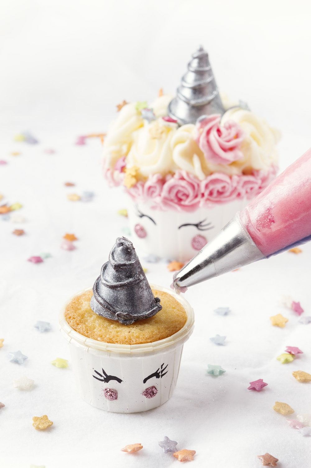 Champicorne cupcake - Studio de creation - Qui a vole les tartes (5)