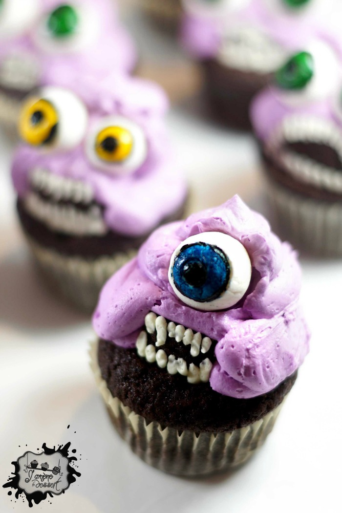 Monster Cupcakes - J'amene le dessert - Aude1
