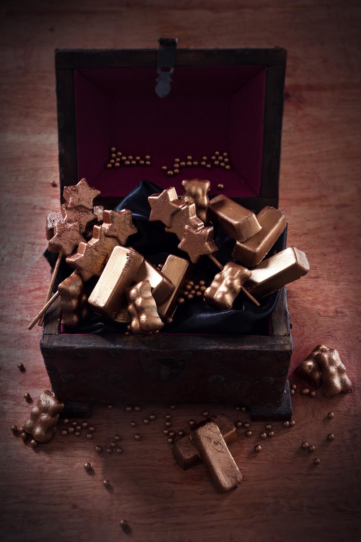 le coffre aux trésors - fondants sans cuisson à la creme de marrons - concours By acb 4 you - qui a vole les tartes