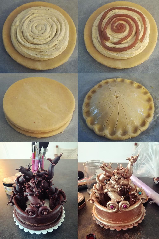galette des rois montage - Studio de creation - Qui a vole les tartes