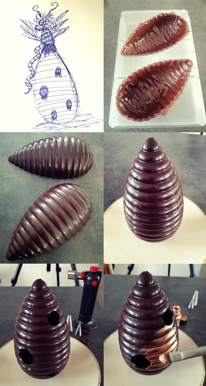 La reine des abeilles montage - Studio de creation - Qui a vole les tartes