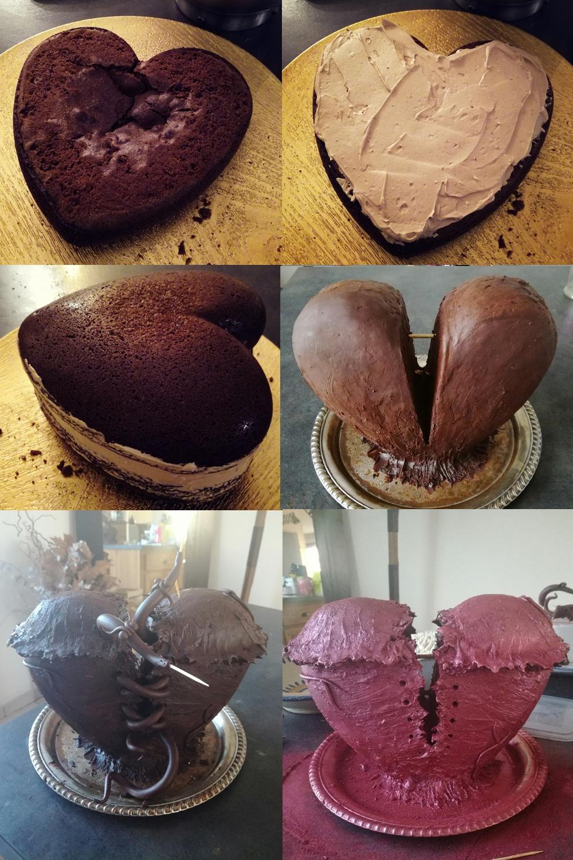 Les vers de coeur montage - Studio de creation - Qui a vole les tartes