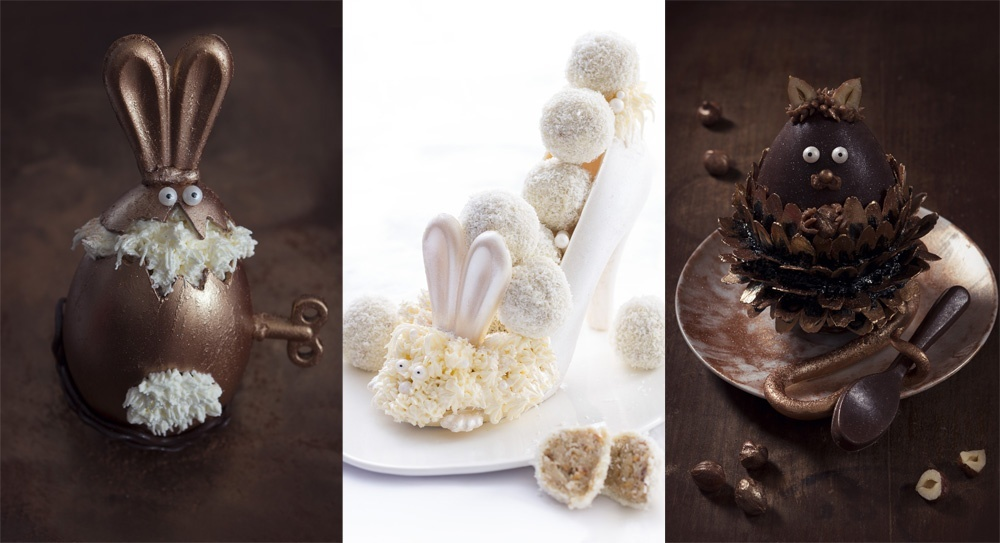 Moulage de Pâques décalés- studio de creation - Qui a vole les tartes