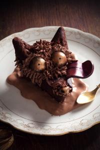 Le loup de Caumes - fondant au chocolat ©Photographie et stylisme culinaire Qui a volé les tartes ?