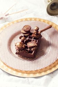 Les tablettes de nowhere - tablette chocolat, praliné, sésame grillé ©Photographie et stylisme culinaire Qui a volé les tartes ?