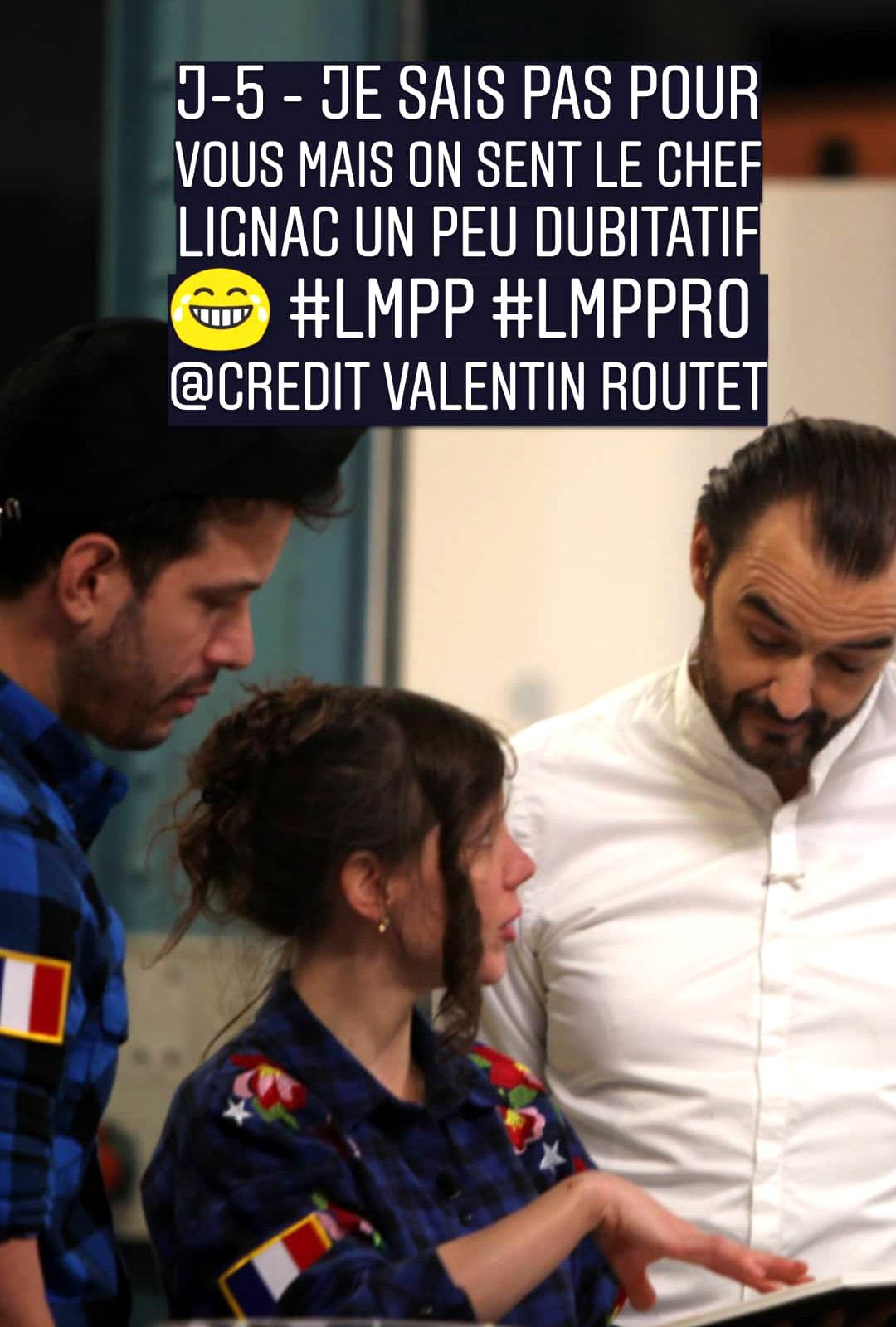 lmpp - cyril lignac - Melanie launay, Pedro leon